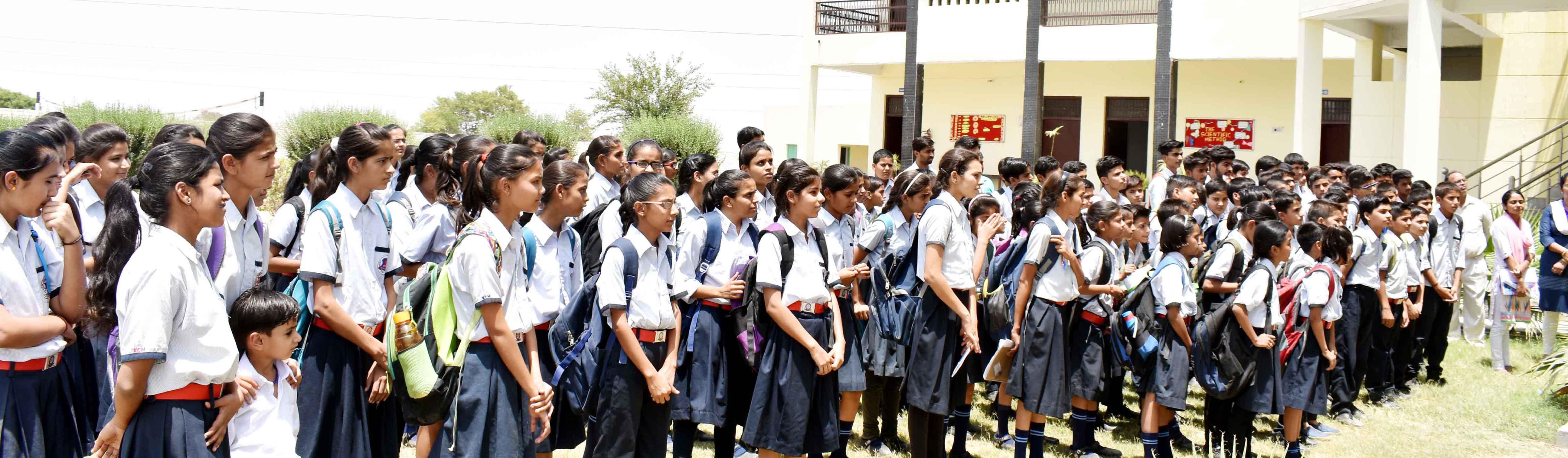 School Building & Campus – KCM Army Sr Sec School